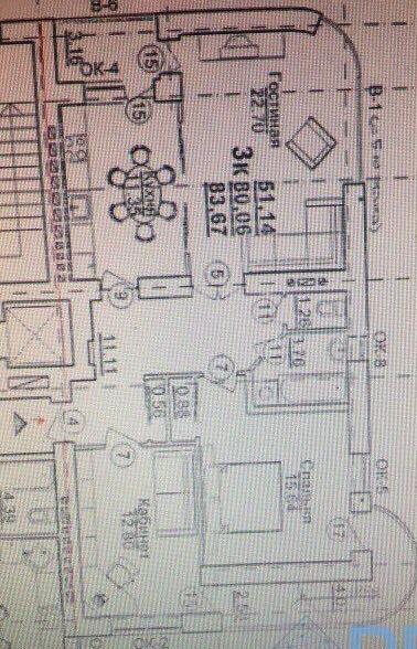 продажа трехкомнатной квартиры номер A-141514 в Приморском районе, фото номер 4
